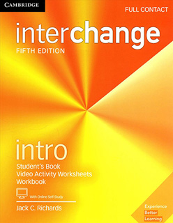 INTERCHANGE INTRO FULL CONTACT WITH ONLINE SELF STUDY AND ONLINE WORKBOOK
