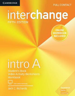 INTERCHANGE INTRO A FULL CONTACT WITH ONLINE SELF...
