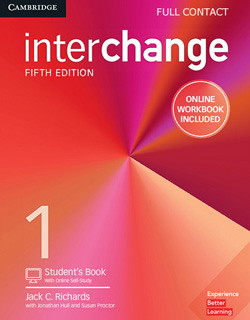 INTERCHANGE 1 FULL CONTACT WITH ONLINE SELF STUDY AND ONLINE WORKBOOK