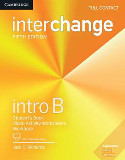 INTERCHANGE INTRO B FULL CONTACT WITH ONLINE SELF STUDY