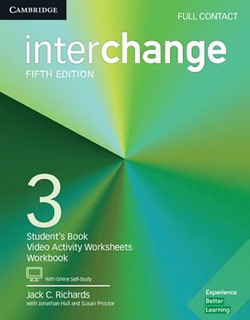 INTERCHANGE 3 FULL CONTACT WITH ONLINE SELF STUDY