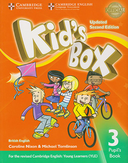 KIDS BOX 3 PUPILS BOOK BRITISH ENGLISH (UPDATED)