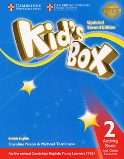 KIDS BOX 2 ACTIVITY BOOK WITH ONLINE RESOURCES...