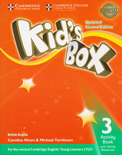 KIDS BOX 3 ACTIVITY BOOK WITH ONLINE RESOURCES...