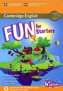 FUN FOR STARTERS STUDENTS BOOK WITH ONLINE...