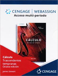WEBASSIGN ACCESO MULTIPERIODO CALCULO TRASCENDENTES TEMPRANAS (LICENCIA)
