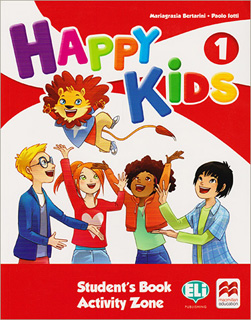 HAPPY KIDS 1 STUDENTS BOOK (INCLUDE ACTIVITY ZONE...