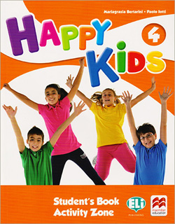 HAPPY KIDS 4 PACK STUDENTS BOOK (INCLUDE CDS)