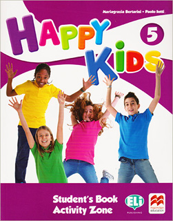 HAPPY KIDS 5 STUDENTS BOOK (INCLUDE ACTIVITY ZONE...