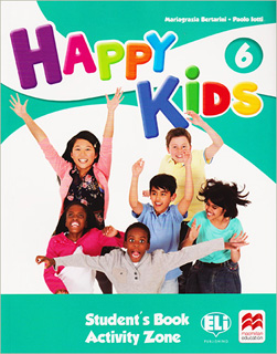 HAPPY KIDS 6 STUDENTS BOOK (INCLUDE ACTIVITY ZONE...