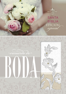 BIBLIA RECUERDO DE BODA. REINA VALERA 1960...