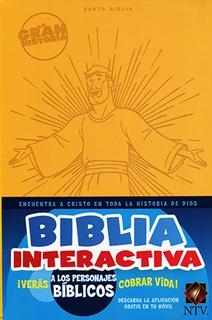 BIBLIA INTERACTIVA: LA GRAN HISTORIA (AMARILLA)