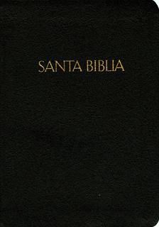 SANTA BIBLIA COMPACTA (NEGRA), REINA VALERA