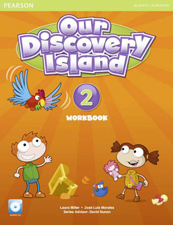 OUR DISCOVERY ISLAND 2 WORKBOOK (INCLUYE CD)