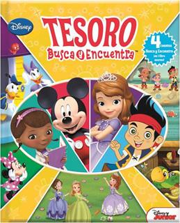 TESORO BUSCA Y ENCUENTRA DISNEY
