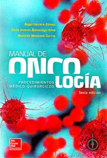 MANUAL DE ONCOLOGIA PROCEDIMIENTOS MEDICO QUIRURGICOS