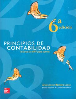 PRINCIPIOS DE CONTABILIDAD INCLUYE LAS NIIF PARA PYMES