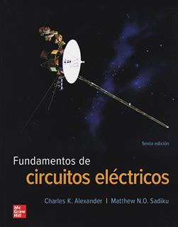 FUNDAMENTOS DE CIRCUITOS ELECTRICOS - BUNDLE...