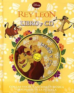 EL REY LEON (LIBRO Y CD)