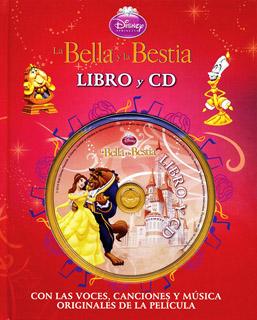 LA BELLA Y LA BESTIA (LIBRO Y CD)