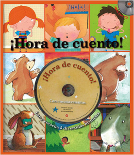 ¡HORA DE CUENTO! (INCLUYE CD)