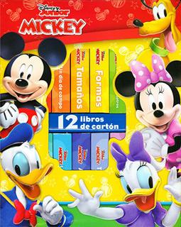 MICKEY (12 LIBROS DE CARTON)