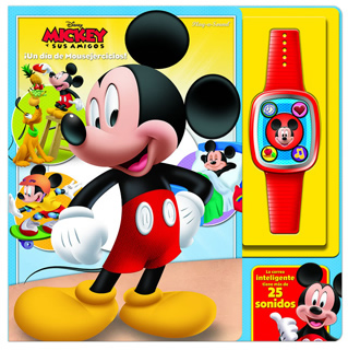 SMART WATCH MICKEY MOUSE CLUB HOUSE ¡ UN DIA DE MOUSKEJERCICIOS !