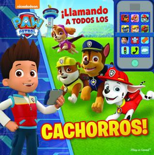 MI PROPIO TELEFONO PAW PATROL ¡ LLAMANDO A TODOS LOS CACHORROS !