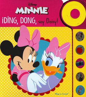 MINNIE: DING, DONG, SOY DAISY (LIBRO CON SONIDO)