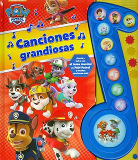 CANCIONES GRANDIOSAS (LIBRO CON SONIDO)