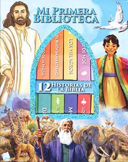 HISTORIAS DE LA BIBLIA (12 LIBROS DE CARTON)