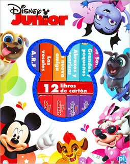 DISNEY JUNIOR (12 LIBROS DE CARTON)