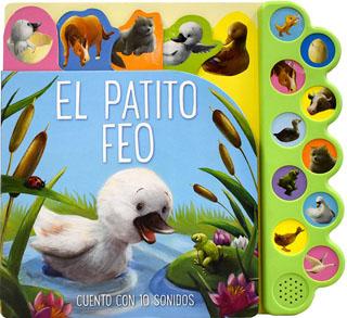 LIBRO CON 10 SONIDOS: EL PATITO FEO