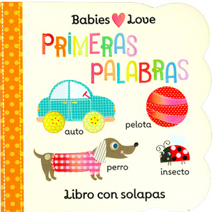 PRIMERAS PALABRAS (LIBRO CON SOLAPAS)
