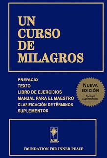 UN CURSO DE MILAGROS (NUEVA EDICION AMPLIADA)
