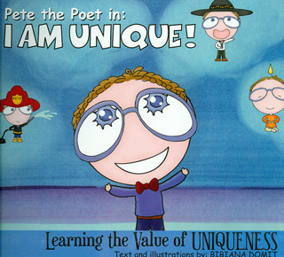 PETE THE POET IN: I AM UNIQUE
