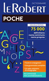 DICTIONNAIRE LE ROBERT POCHE (NOUVELLE EDITION)