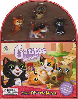 MINI DIVERTILIBROS: GATITOS ADORABLES