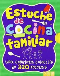 ESTUCHE DE COCINA FAMILIAR (INCLUYE COCINA FAMILIAR, COCINA CON VERDURAS, COCINA RAPIDA)