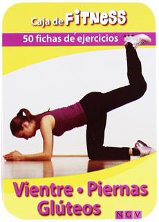 VIENTRE, PIERNAS Y GLUTEOS (50 FICHAS DE EJERCICIOS)
