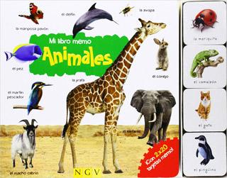 ANIMALES: MI LIBRO MEMO