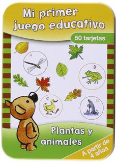 PLANTAS Y ANIMALES (50 TARJETAS)