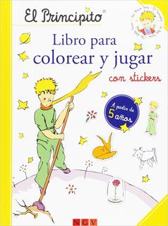 EL PRINCIPITO LIBRO PARA COLOREAR Y JUGAR CON...