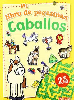 CABALLOS: MI LIBRO DE PEGATINAS