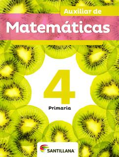 AUXILIAR DE MATEMATICAS 4 PRIMARIA
