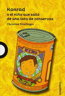 KONRAD O EL NIÑO QUE SALIO DE UNA LATA DE CONSERVAS (SERIE AZUL)