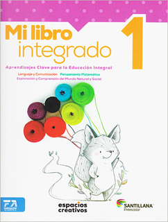 MI LIBRO INTEGRADO 1 PREESCOLAR (ESPACIOS...