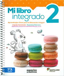 MI LIBRO INTEGRADO 2 PREESCOLAR (ESPACIOS...