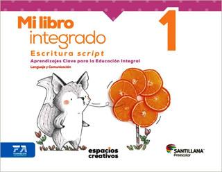 MI LIBRO INTEGRADO 1 ESCRITURA SCRIPT PREESCOLAR...