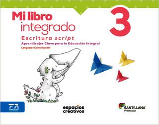 MI LIBRO INTEGRADO 3 ESCRITURA SCRIPT